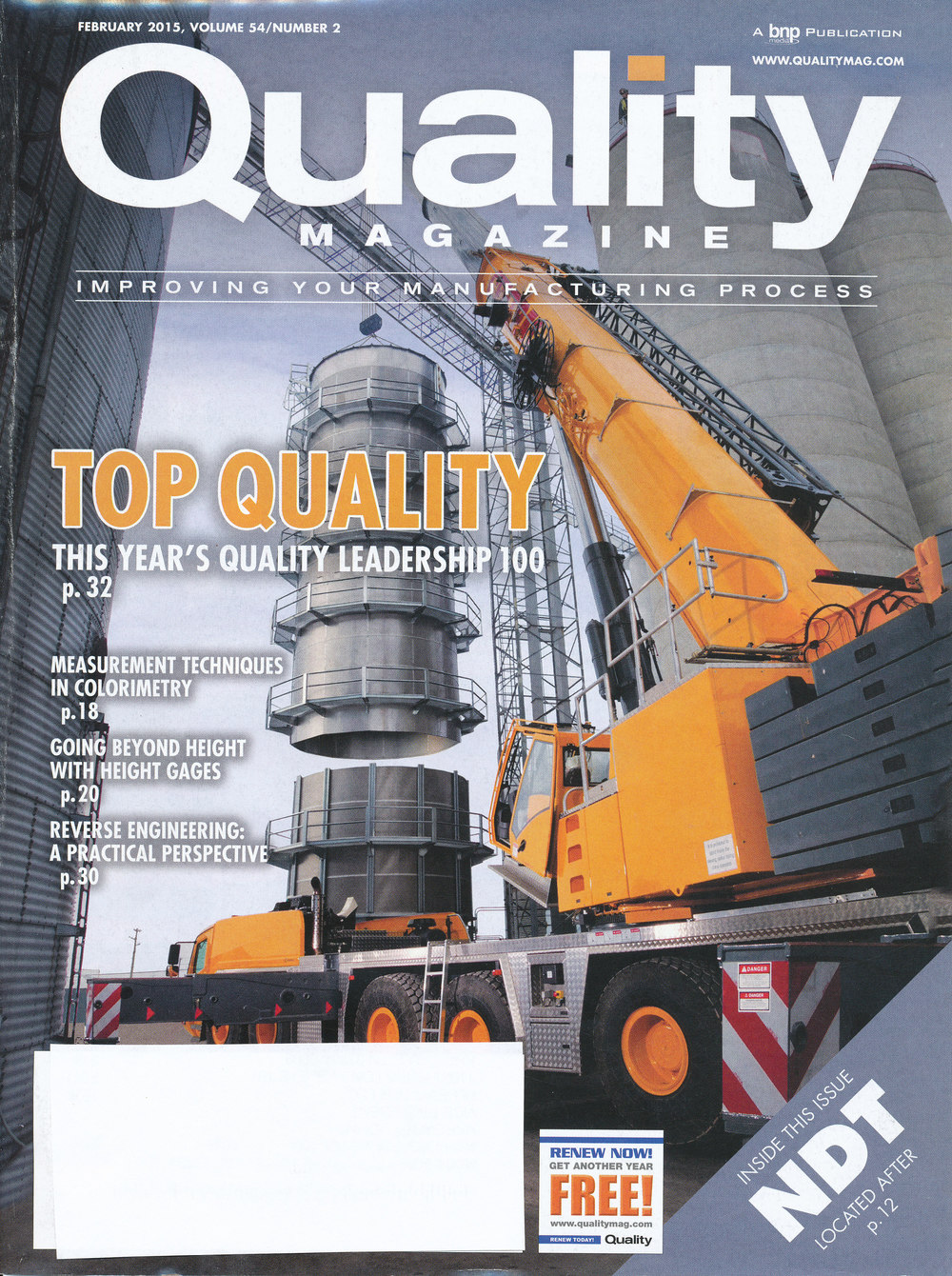 Content Marketing - Article - Quality Mag - Feb 2015