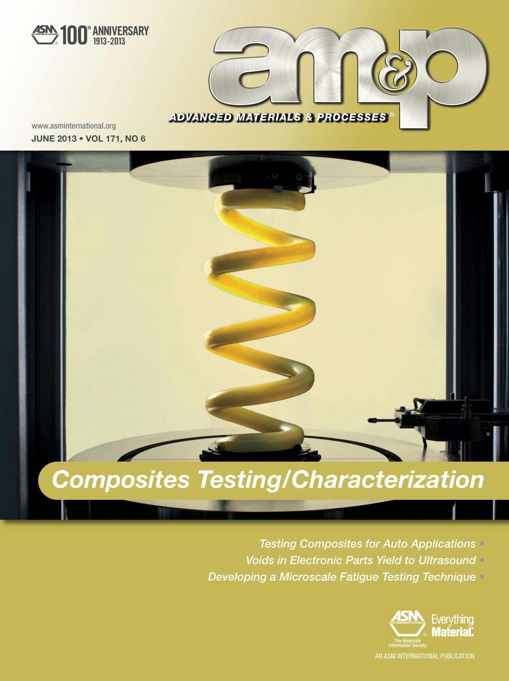 AM&P June 2013 Cover Story - Contributed Article