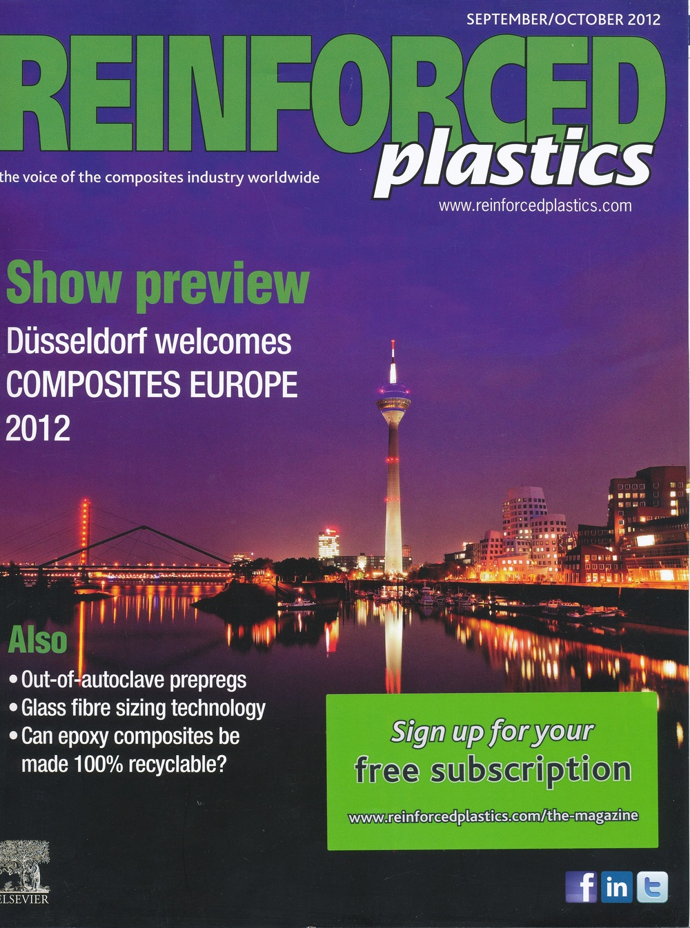 Contributed Article - Reinforced Plastics Sept 2012