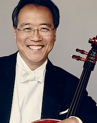 OUR FIRST RECIPIENT  Yo-Yo Ma   2002 Benjamin Franklin Creativity Laureate in the Arts    MORE...