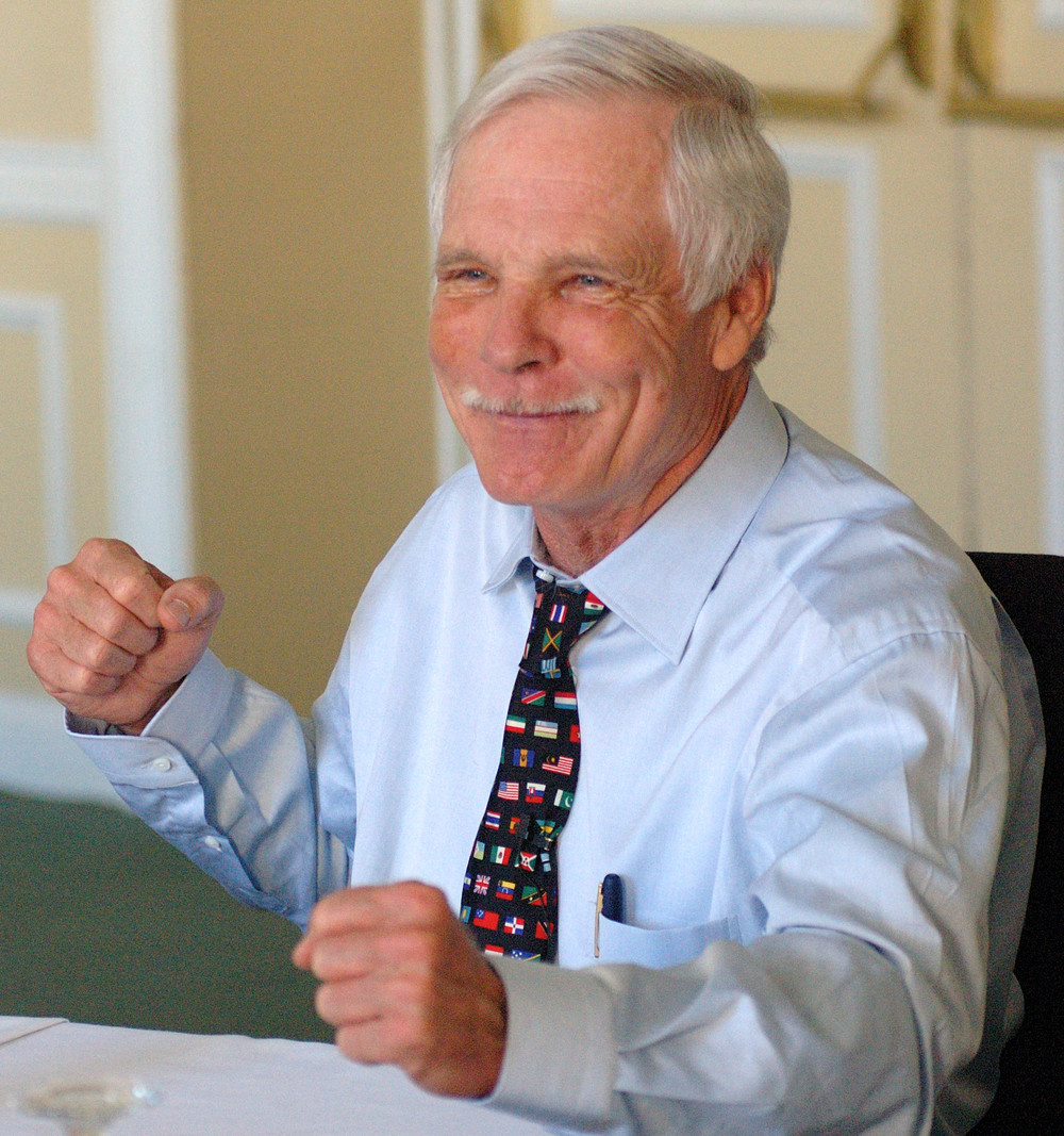 Ted Turner at the Creativity Roundtable
