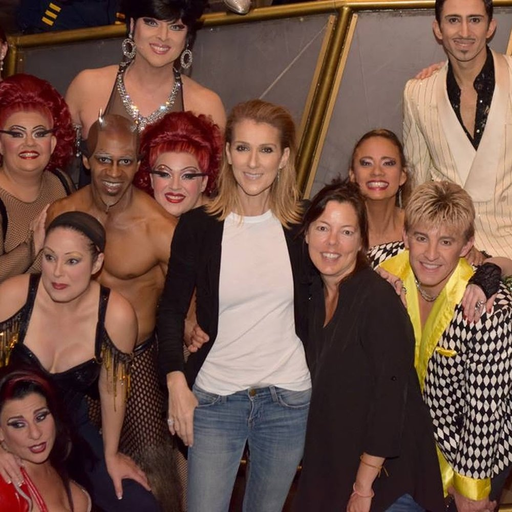 "Sandi Croft    Ep. #115   Sandi auditioned for Cats 6 times and knows what  resilience  looks, feels and sounds like. She shares her experience with  Celine Dion's  Vegas residency , her years at  ""O""  and with Cirque du Soleil."