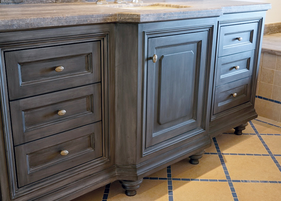 This Included The Beams, Doors, Exterior Wood, Baseboard And Cabinets.  These Finishes Included Fumed And Cerused Oak Doors, Wire Brushed Beams, ...