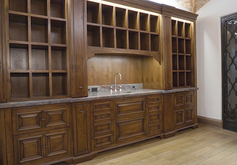 Attractive This Included The Beams, Doors, Exterior Wood, Baseboard And Cabinets.  These Finishes Included Fumed And Cerused Oak Doors, Wire Brushed Beams, ...