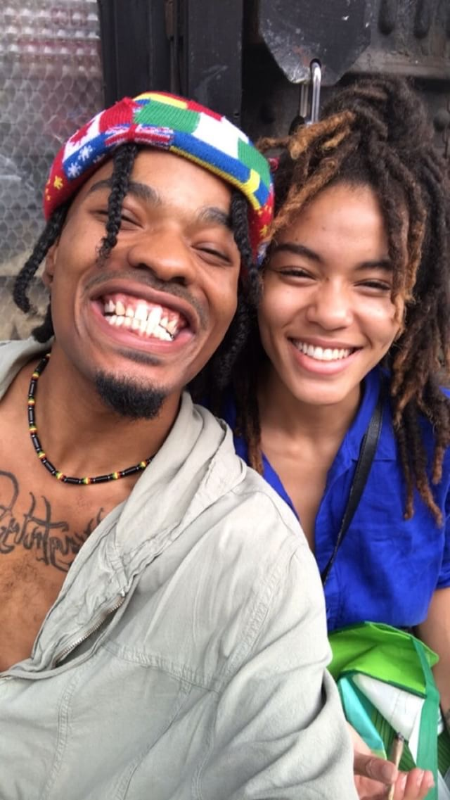 Marcus Branch and Dina Baez, NYC, 2017