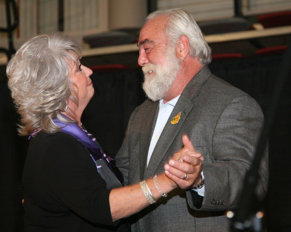Paula Deen and her husband%2c Michael Groover dance to A Recipe for Love at the GraceWay benefit.jpg