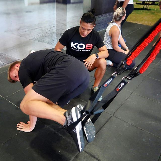 Don't Miss Our Final Live Events of 2018 . . . Personal trainers, Sports coaches, Strength & Conditioning coaches, Yoga instructors, Athletes, Fitness enthusiasts, Physiotherapists, Physical Therapists, Doctors ... you name it we've had them all through our KO8 Functional Movement Certification! The fact is that educating yourself on how to: - Move more efficiently - Increase strength - Improve mobility - Increase range of motion - Prevent injury - Build a healthy body for longevity are all transferable across any discipline or background and are applicable to elite professional athletes right through to the general adult population. . . . Register now for the final Live events of the year and receive the ultimate KO8 experience with KO8 Academy founders Kieran & Sean. . . . Register now at KO8ACADEMY.COM #WeTrainWhereWeWant 🌍 @ko8_fitness . . . #fitlife #education #functionaltraining #functionalmovement #mobilty #strength #endurance #fitfam #fitspo #fitnessjourney #getstrong #fitness #healthylife #progress #personaltrainer #pt #suspensiontraining #resistancebands #ukfitfam #dubaifitfam #fitnessindxb #dubaipersonaltrainer #fitnesscoach #strengthandconditioning #injuryprevention #prehab #mobilitytraining #mydubai
