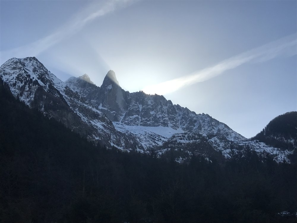 Sunrise over the Drus