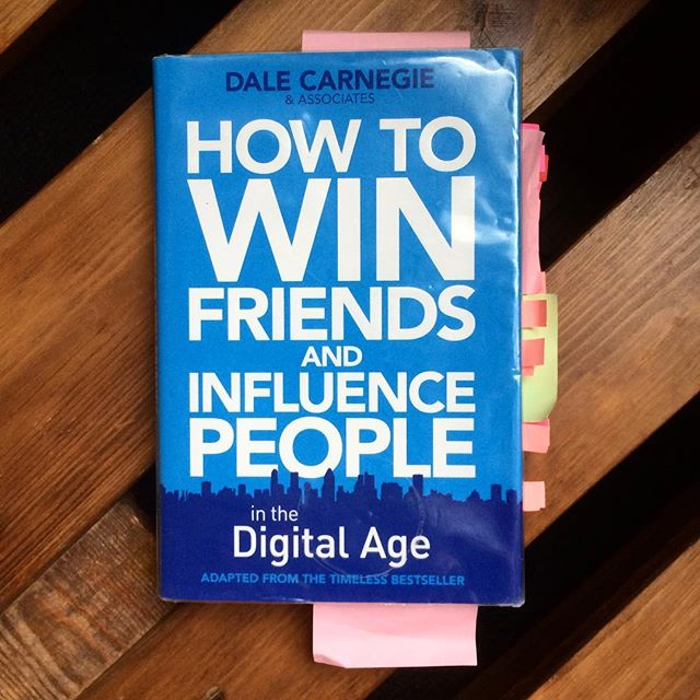 """Rating: Would Recommend 👍 Title: How to Win Friends and Influence People In the Digital Age Author: Dale Carnegie and Associates Summary: The updated guide to relationships in the 21st century adapted from the global best seller How to Win Friends and Influence People. The timeless wisdom is delivered with the context of today's digital society to better your communication and leadership skills in all areas of your life. .  As you've requested I'm sharing the picture of the book after I finished it. You can tell I've made note of quite a few passages. Give this post 100 ❤️ and I'll post a chapter by chapter summary on ModernAfflatus.com! .  Notable Quotes: . """"You can make more friends in two months by becoming more interested in other people than you can in two years by trying to get people interested in you"""" . """"Hardwired into all of us is the desire for honest communication - to understand and be understood. Beyond that, for authentic connection - to be known, accepted, and valued. Beyond that still, for successful collaboration - to work together toward meaningful achievement be it commercial success, corporate victory, or relational longevity. The crowing essence of success lies along a spectrum between authentic human connection (winning friends) and meaningful, progressive impact (influencing people)."""""""