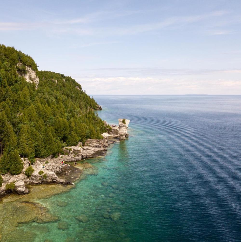 @chrisbrockhurst    Flower Pot Island / 4 hours and 8 minutes from Toronto