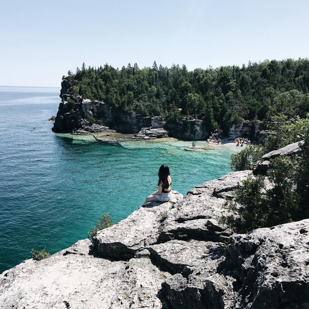 @ohclemee    Tobermory, Ontario / 4 hours and 11 minutes from Toronto