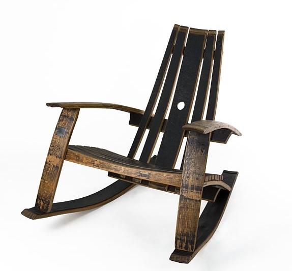 Ordinaire Bourbon Rocking Lounge Chair