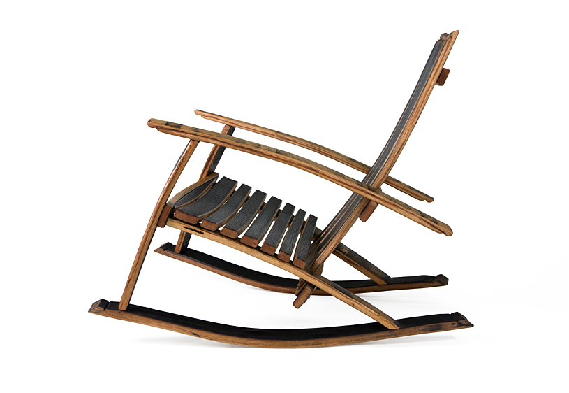 Bourbon Rocking Lounge Chair