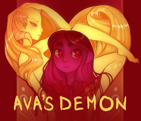 Ava's Demon  by Michelle Czajkowski, contributing artist on Firelight