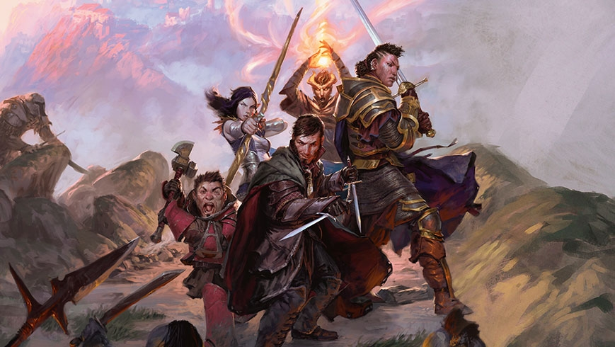 In  Dungeons & Dragons,  players embody the role of an imagined character.