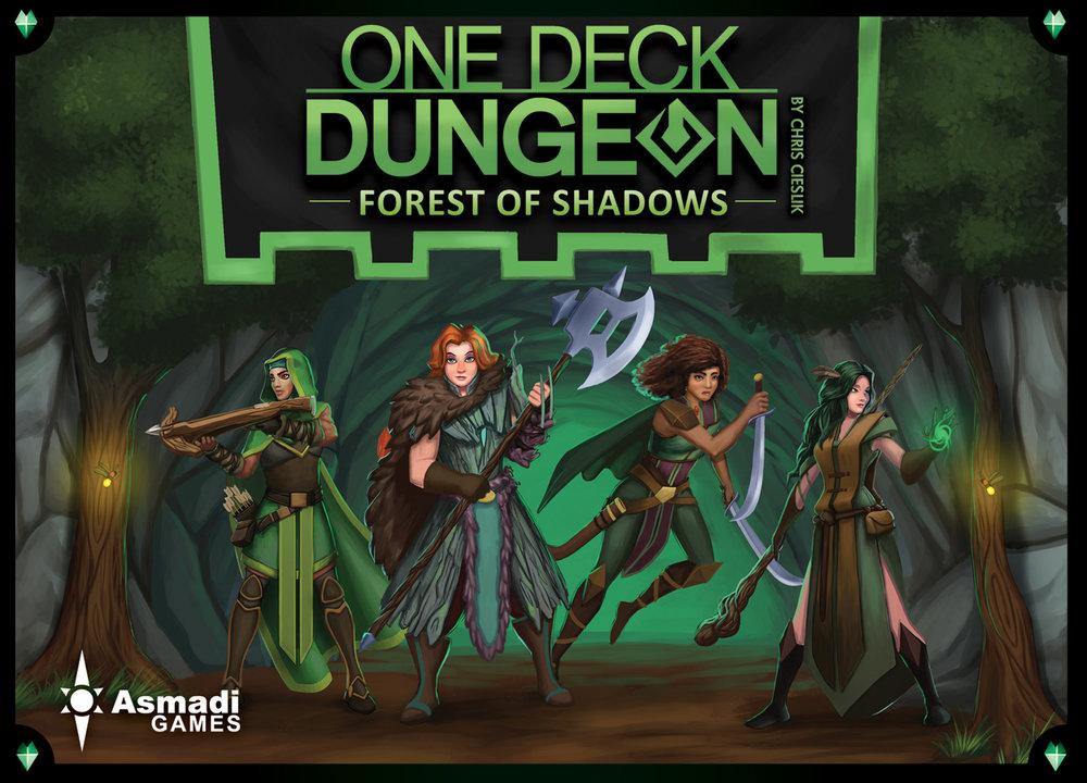 One Deck Dungeon: Forest of Shadows  on Kickstarter
