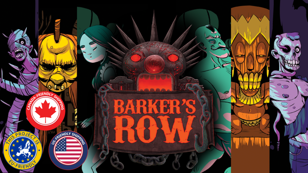 Barker's Row  is a carnival-themed tabletop game from the makers of  New Salem