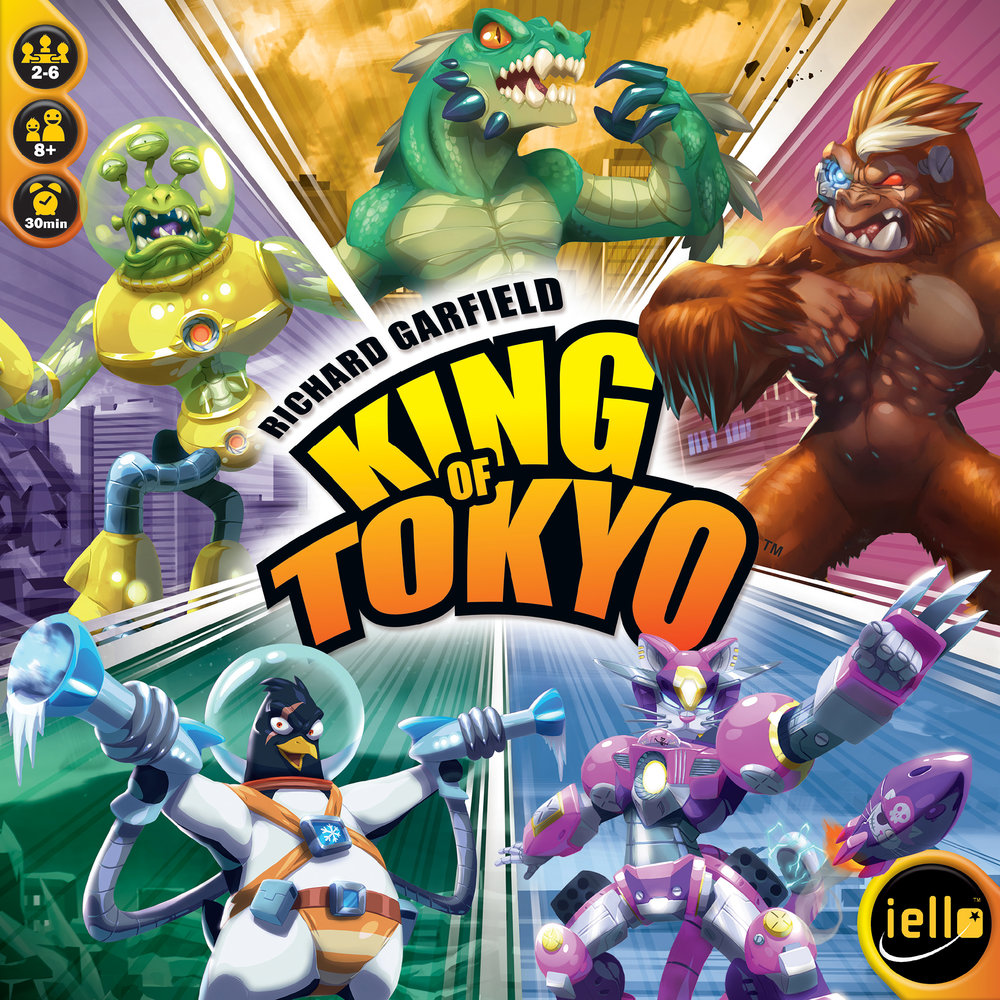 King of Tokyo is a popular board game based on a relatively niche theme