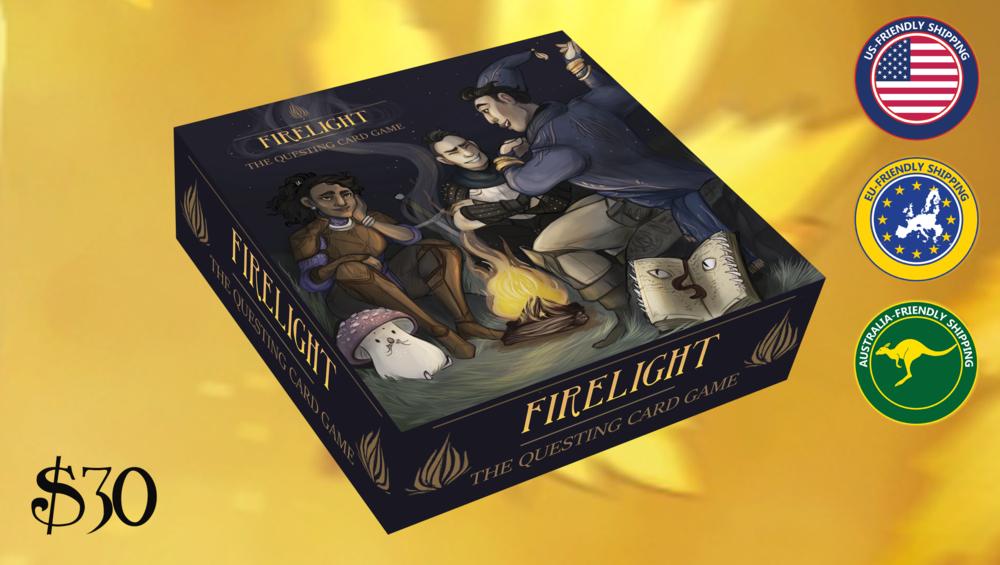 Firelight  header for our Kickstarter campaign.