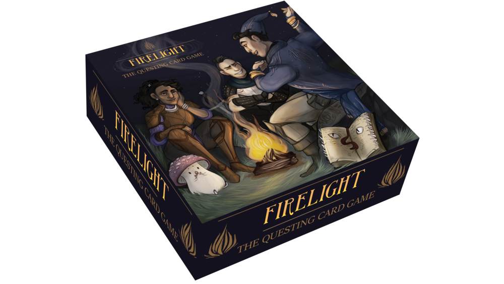 Firelight: The Questing Card Game hits in early Spring 2018