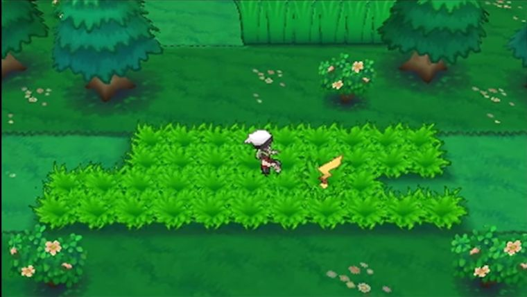 Sneaking up on a Pokémon allows you to learn more about it.