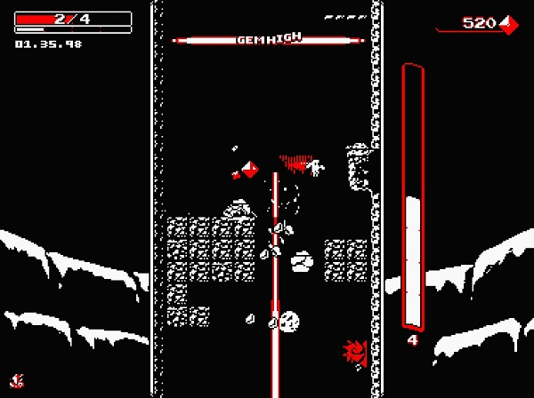 Downwell Review 1