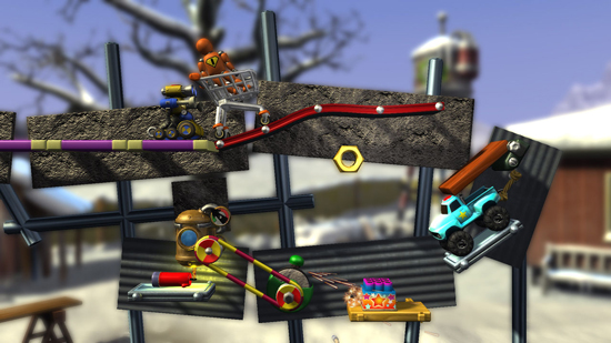 Crazy Machines Elements XBLA Screenshot