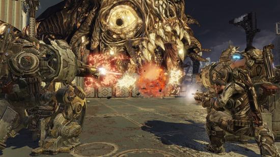 Gears of War 3 Xbox 360 Screenshot