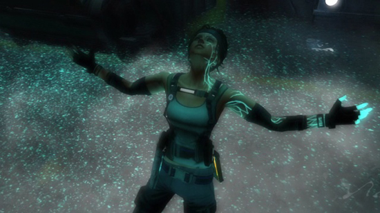 Hydrophobia Prophecy PS3 Screenshot