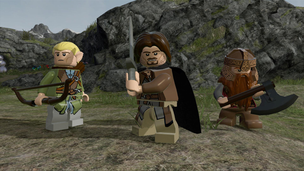 Lego LOTR PS3 2