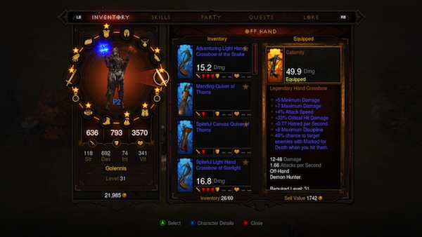 Diablo III Xbox 360 Review 1