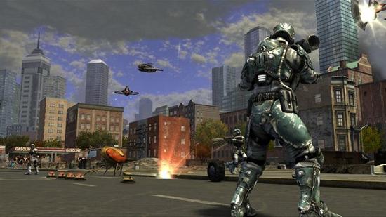 Earth Defense Armageddon PC Screenshot