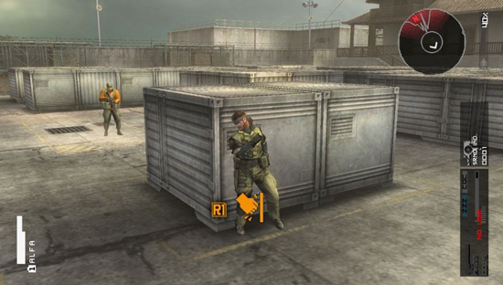 Metal Gear Solid HD Collection 360 Screenshot