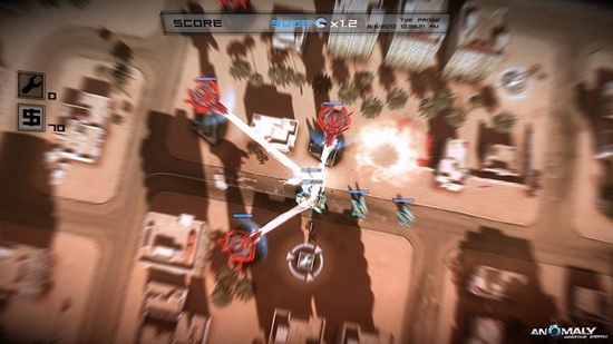 Anomaly Warzone Earth XBLA Screenshot