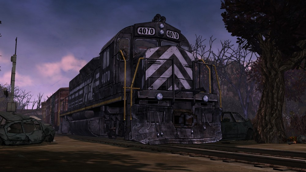 walking dead ep 3 train