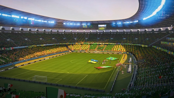 2014 World Cup Brazil Xbox 360