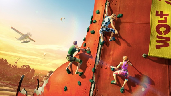 Kinect Sports Rivals Climbing