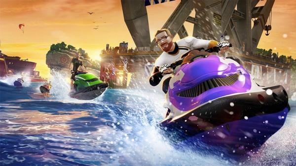 Kinect Sports Rivals Jet Ski