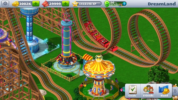 RollerCoaster Tycoon 4 Mobile iOS