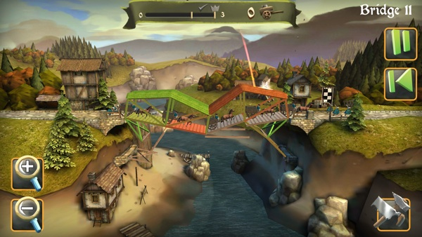 Bridge Constructor Medieval iOS Review