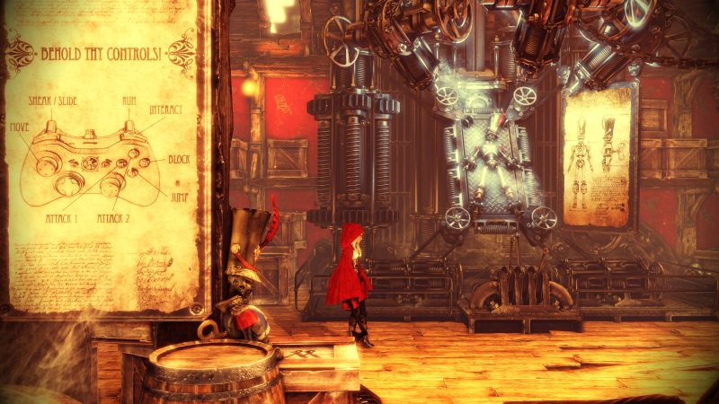 Woolfe - The Red Hood Diaries PC Preview