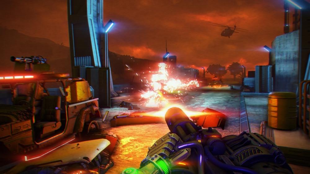 Far Cry 3 Blood Dragon — DarkStation