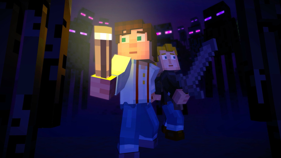 Minecraft Story Mode Episode 3 The Last Place You Look Darkstation