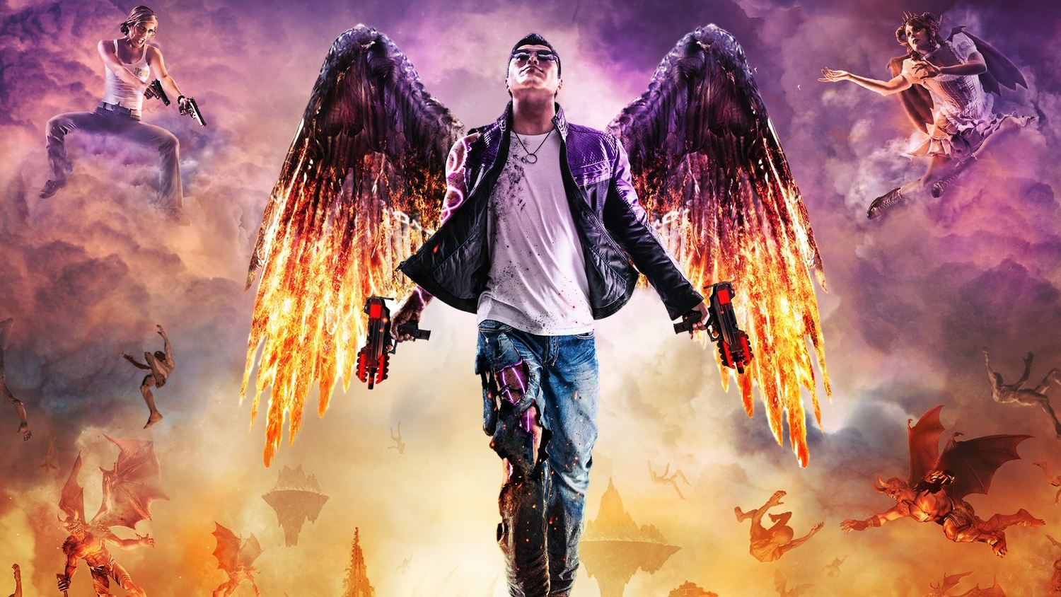 Ps4 Wallpapers For Saints Row 4 Games Opera Wallpapers