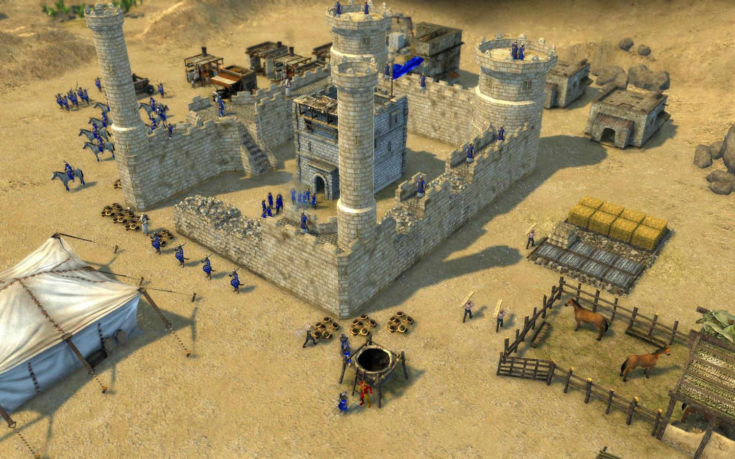 how to get stronghold crusader 2 game free download full version