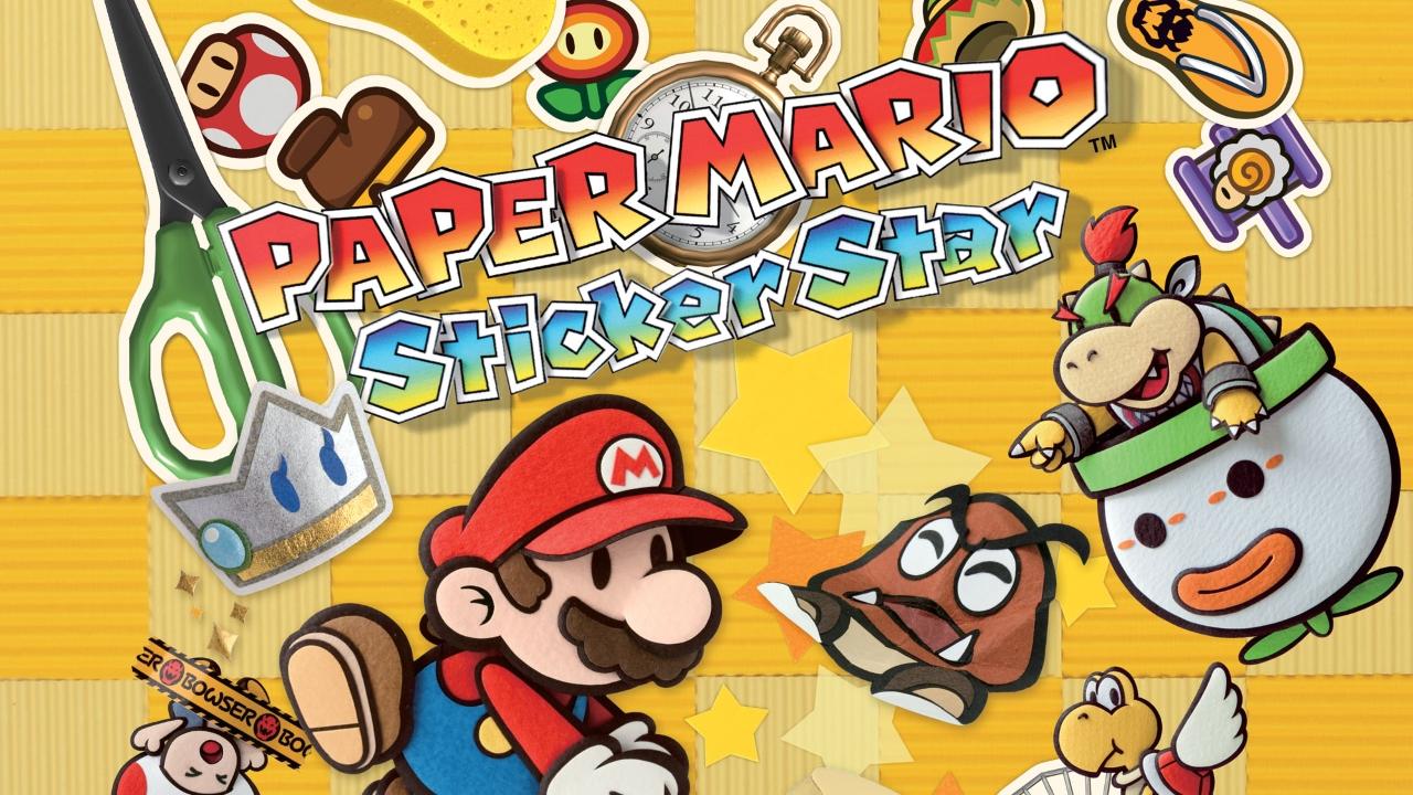 Paper Mario Sticker Star Darkstation