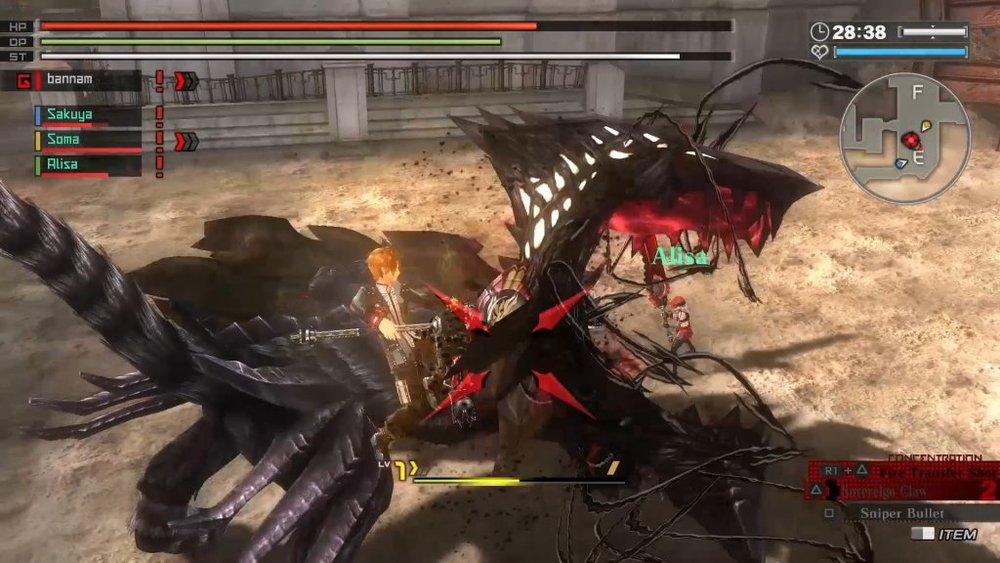 God Eater Resurrection PlayStation 4 Reviews
