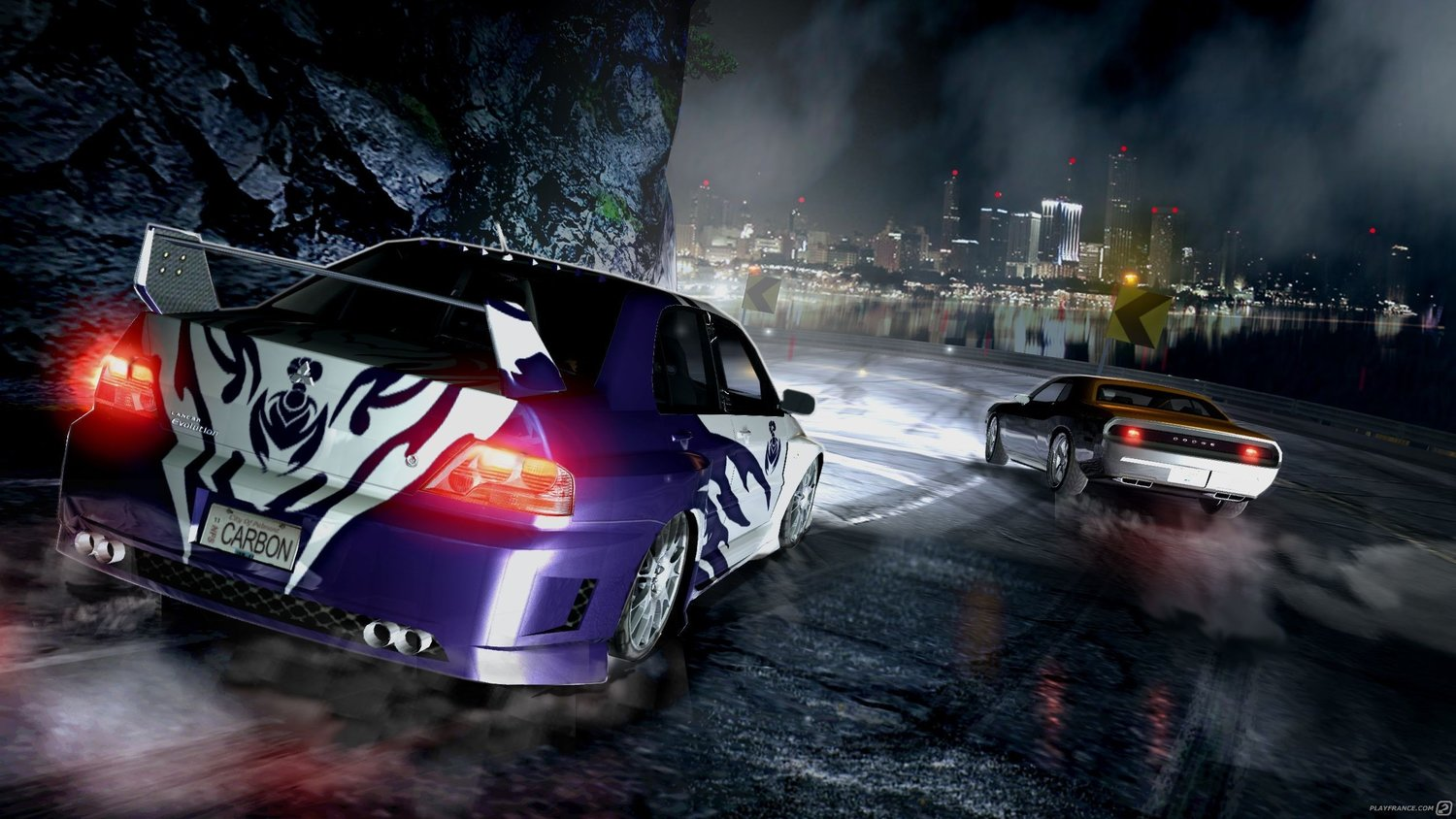 need for speed carbon ps3 gameplay