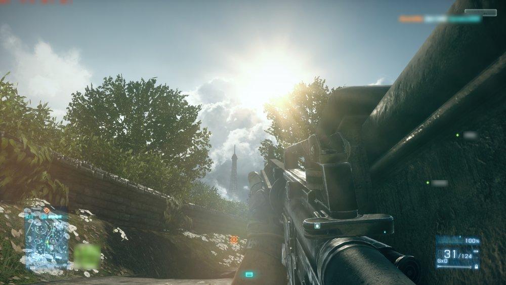 Battlefield 3 Sun