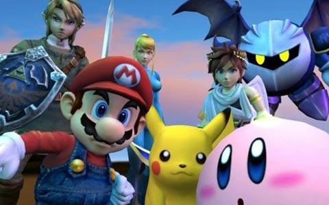 Smash Bros 3DS E3 2012
